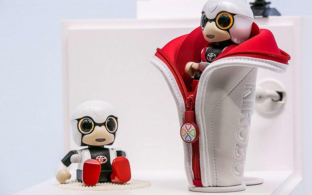 Les robots compagnons ont marqué le salon Ceatec de Tokyo