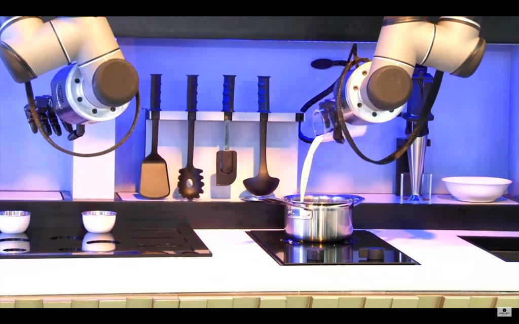 Moley annonce la sortie d'un robot cuisinier