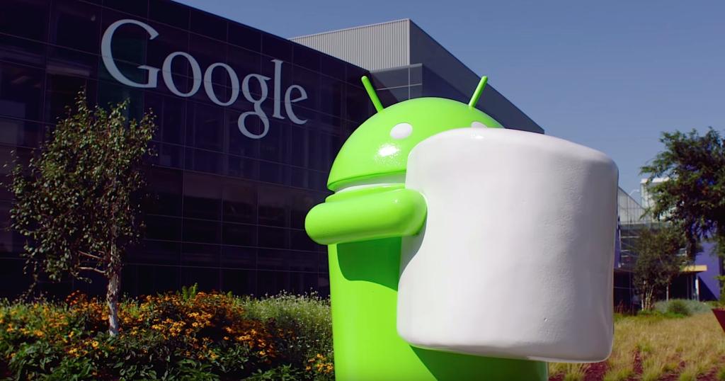 Nouvel affichage sur la nouvelle version Android