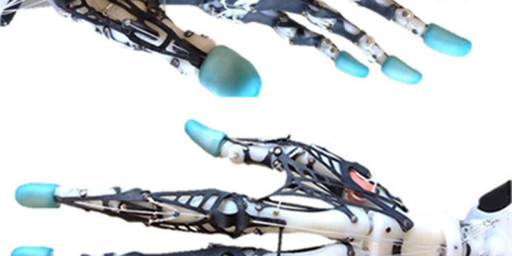 Création d'un prototype de main robotique