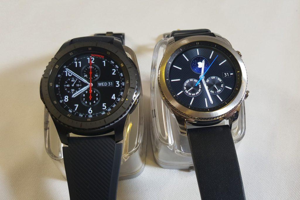La montre connectée Gear S3 de Samsung sera bientôt mise sur le marché